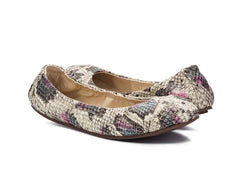 Emma Flats Snake for Women