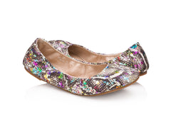 Emma Flats Martini Snake for Women