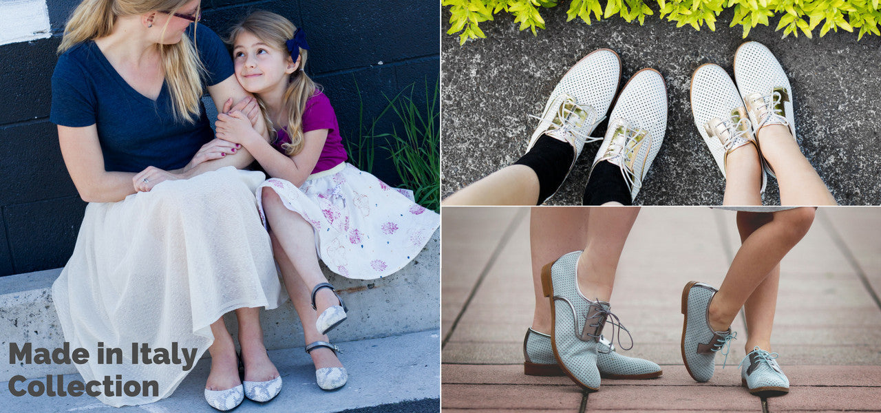 Nene Shoes - Made in Italy matching mommy and me shoes