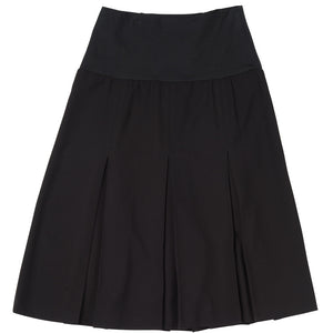 Inverted Pleat Skirt - Front View