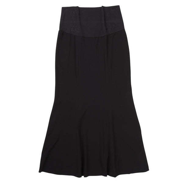 Long Gored Skirt - Front View