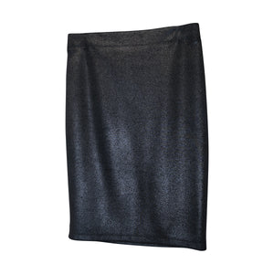 Mettalic Pencil Skirt