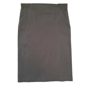 Ran Bengaline Pencil Skirt - Storm