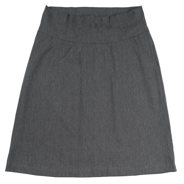 Slight A-Line Skirt - Charcoal