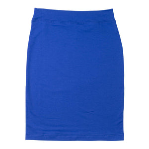 T-Shirt Pencil Skirt - Royal Blue