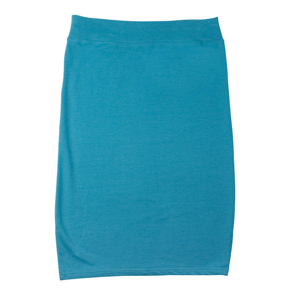 T-Shirt Pencil Skirt - Turquoise