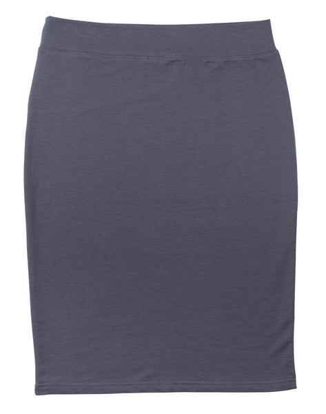 T-Shirt Pencil Skirt - Grey