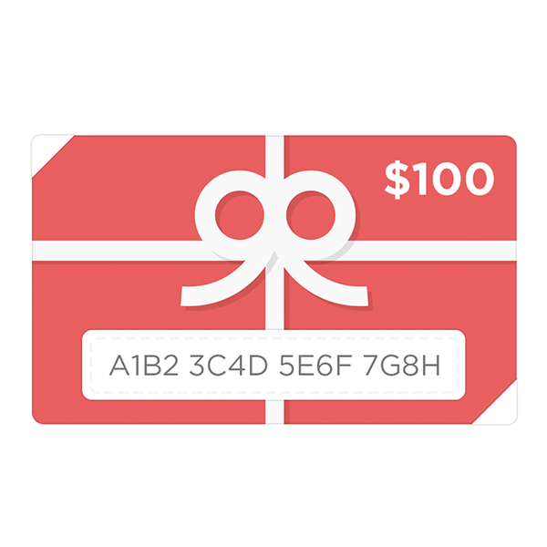 Sample Gift Card