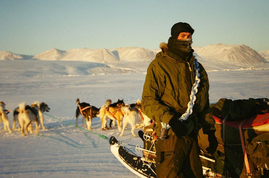 Dogsled patrolling with Sirius in -40°C