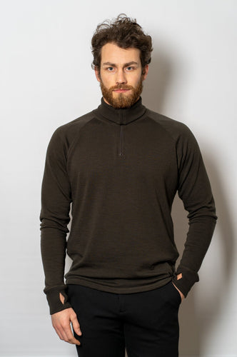 ZN-240 Mens Zip Neck