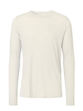 Indlæs billede til gallerivisning Long sleeve Merino T-shirt sand color