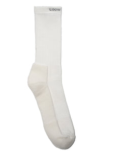 3x HS-80 Socks, White