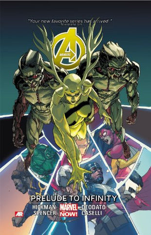 AVENGERS TP VOL 03 PRELUDE TO INFINITY
