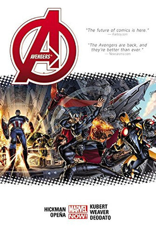 AVENGERS BY JONATHAN HICKMAN HC VOL 01