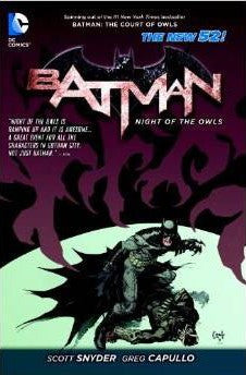 BATMAN NIGHT OF THE OWLS TP (N52)