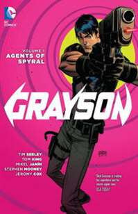 GRAYSON TP VOL 01 AGENTS OF SPYRAL TP