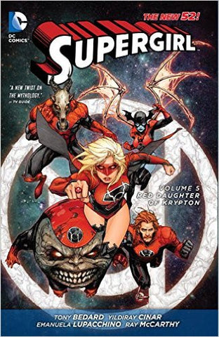 SUPERGIRL TP VOL 05 RED DAUGHTER OF KRYPTON (N52)