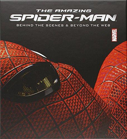 AMAZING SPIDER-MAN BEHIND SCENES AND BEYOND WEB HC