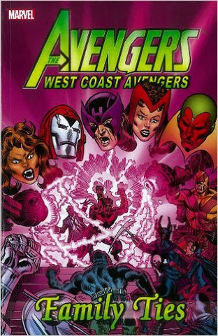 AVENGERS WEST COAST AVENGERS TP FAMILY TIES