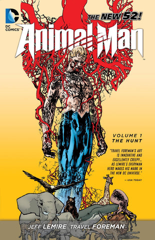ANIMAL MAN TP VOL 01 THE HUNT (N52)