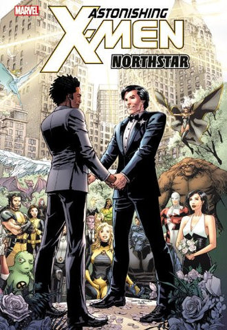 ASTONISHING X-MEN NORTHSTAR WEAVER HC