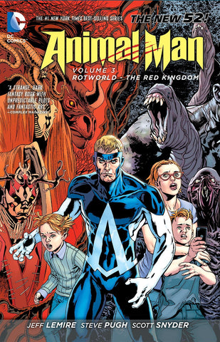 ANIMAL MAN TP VOL 03 ROTWORLD THE RED KINGDOM (N52)