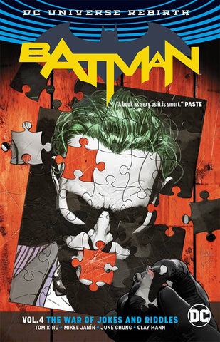 Batman Rebirth Vol 4 The War Of Jokes And Riddles