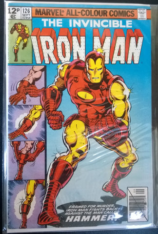 The Invincible Ironman #126