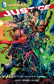 JUSTICE LEAGUE - The Villians Journey HC