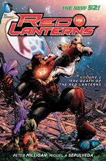 RED LANTERNS - The Death of the Red Lanterns Vol. 2 Hardcover