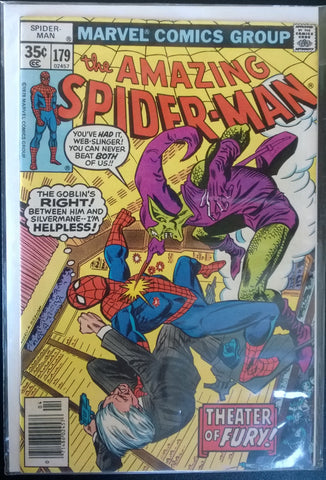 The Amazing Spiderman #179