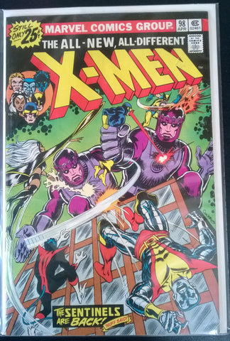 The All New, All Different X-Men # 98 -The Sentinels are Back
