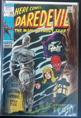 Daredevil, The Man Without Fear#54 - It Started With Fear!