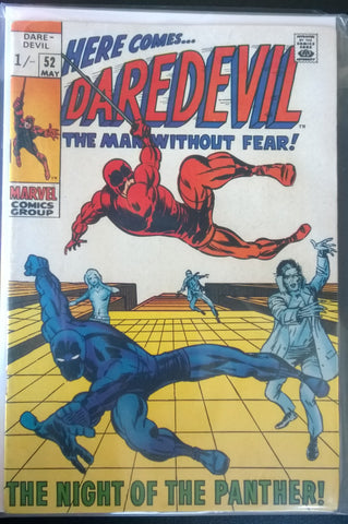 Daredevil, The Man Without Fear#52 - The Night of the Panther!