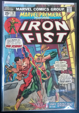 Iron Fist # 16 - Jaws of the Dragon