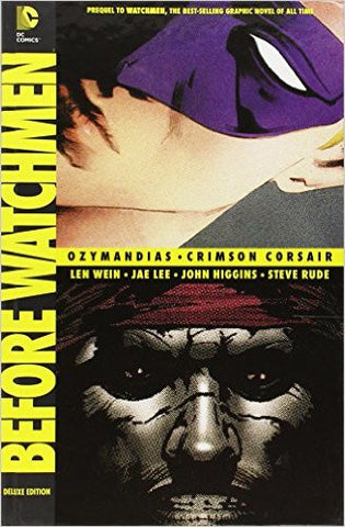 Before WATCHMEN - Ozymandias/Crimson Corsair