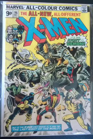 The All New, All Different X-Men #96 - The Night of the Demon