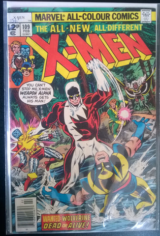 The All New, All Different X-Men # 109 - Wanted: Wolverine, Dead or Alive