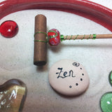 Mini Zen Garden - Crimson Tide