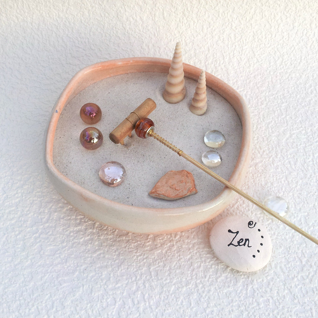 Mini Zen Garden - Two if by Sea