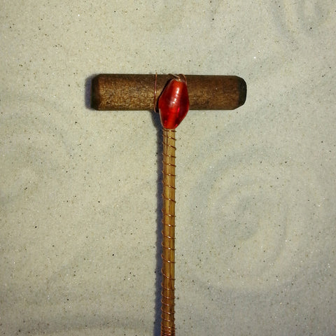 Mini Zen Garden Rake - Ruby-SECOND