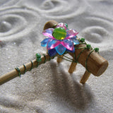 Mini tabletop Zen Garden Rake - Handmade in Oregon U.S.A.- Jaded Flower