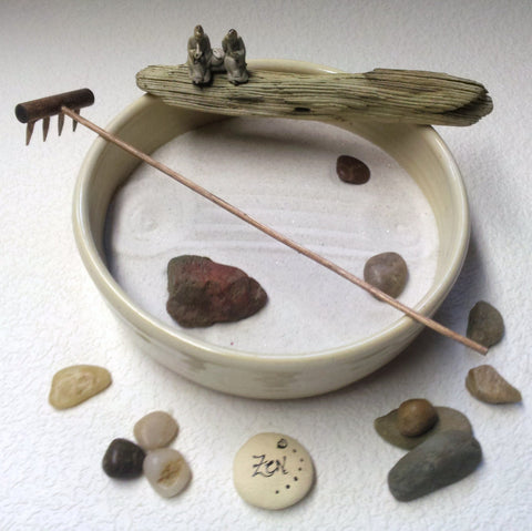 Standard Zen Garden - OOAK - From the Forest Floor II