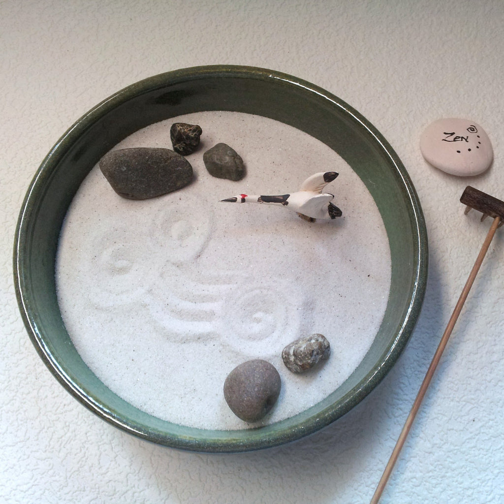 Standard Zen Garden - OOAK - The Gull