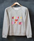 Iris Grey Marl Sweatshirt Multi