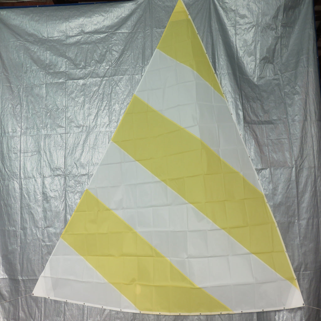 Minifish Sail in Yellow and White