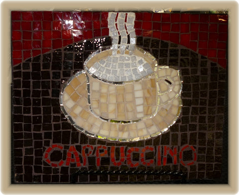 Cappuccino Glass Mosaic