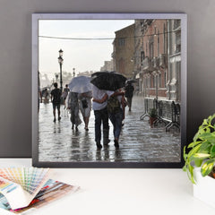 Walking in the Rain Framed Poster Photo - Susanne Ferrante - 10