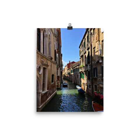 Venice Canal Poster Photo