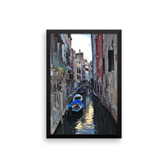 Venice Canal Framed Poster Photo - Susanne Ferrante - 13